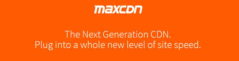 WooCommerce MaxCDN