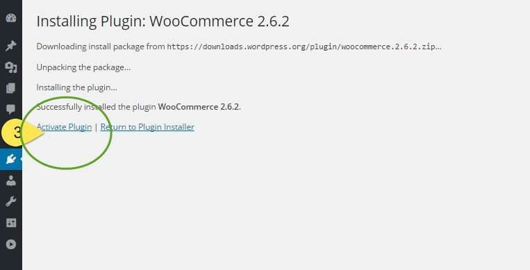 how to install woocommerce-activating woocommerce