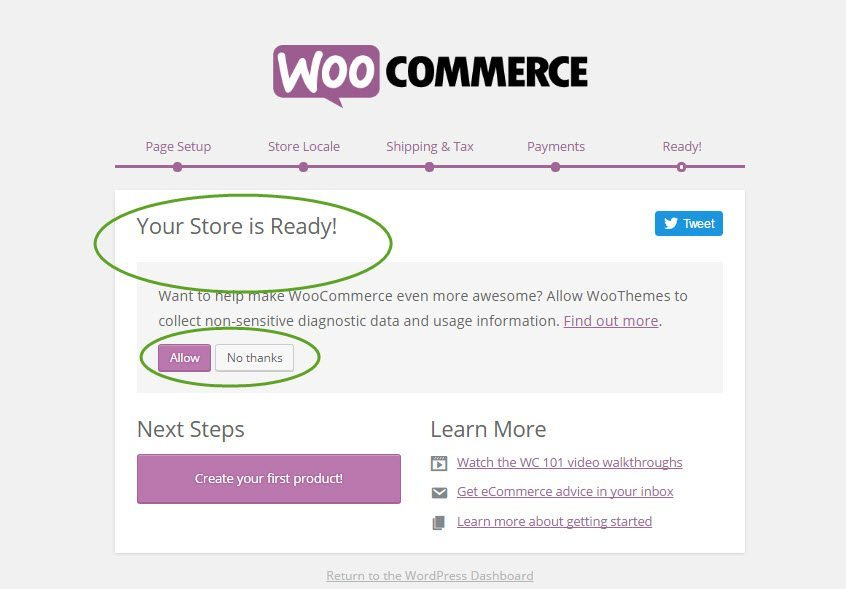 how to install woocommerce-complete setup wizard