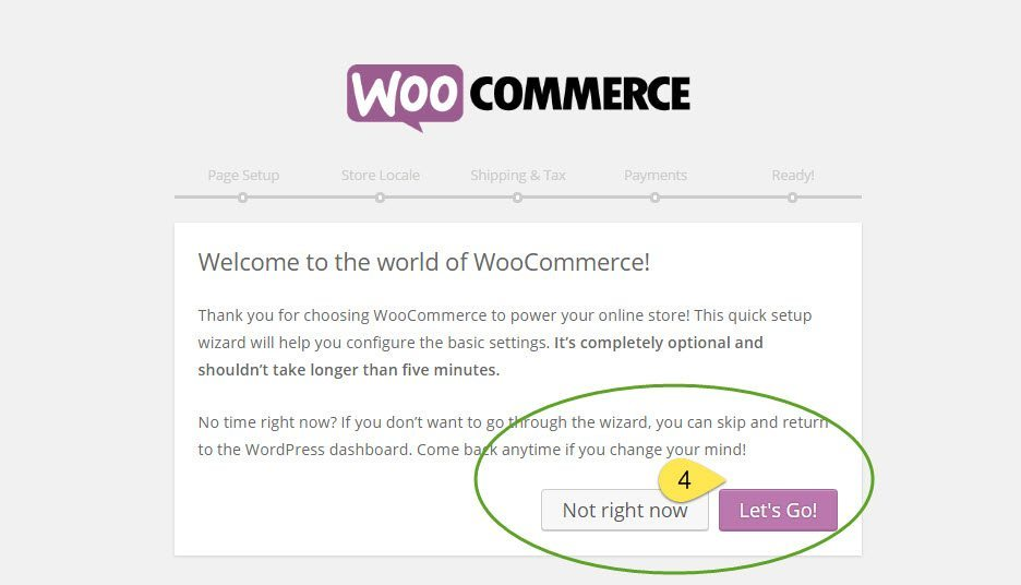 how to install woocommerce-setup wizard