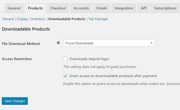 WooCommerce-Downloadable-Products-Display-Settings