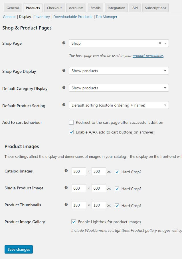 WooCommerce-product-Pages-Customization-Settings